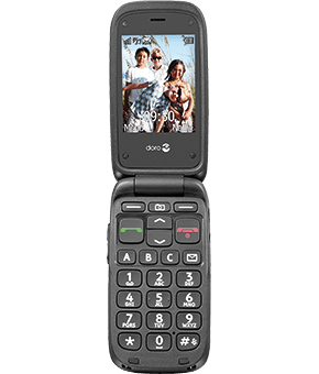 doro phone easy 612i black