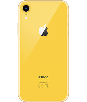 apple iphone xr yellow 1